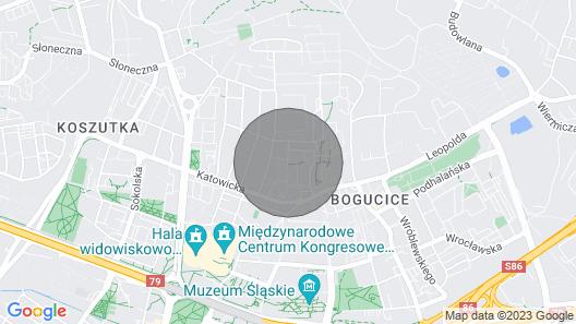 Modrzewiowia City Katowice Cop24 Map