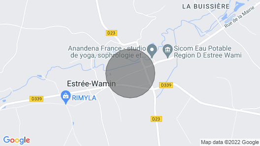 4 Bedroom Accommodation in Estree Wamin Map