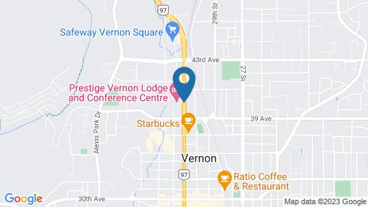 Prestige Vernon Lodge and Conference Centre Map