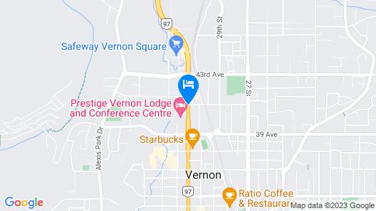Econo Lodge Vernon Map
