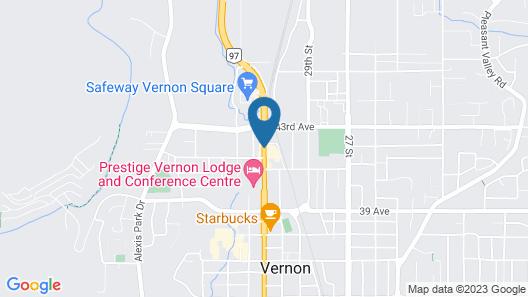 Blue Stream Motel Map