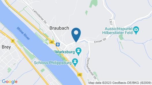 Hotel Landgasthof Zum Weissen Schwanen Map