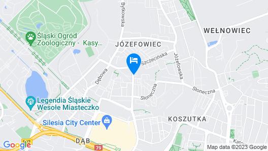 Silesia Apartments Map