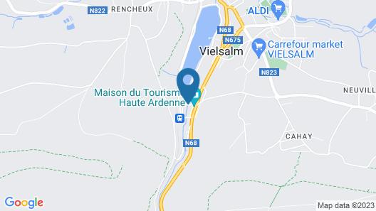 Les Doyards Map