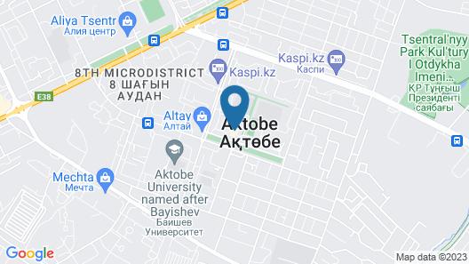ibis Aktobe Map