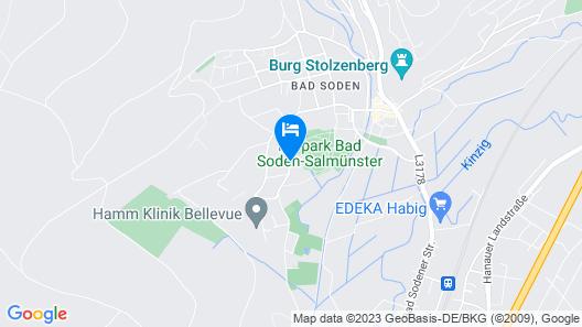 Kishotel Am Kurpark Map