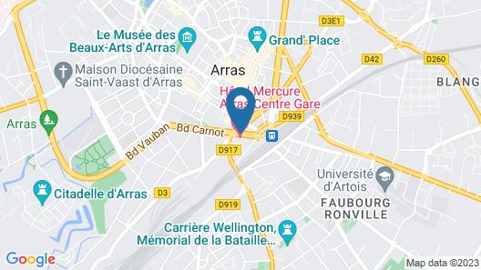 Mercure Arras Centre Gare Map