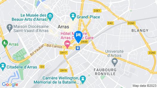 Hôtel Le Passe-Temps Map