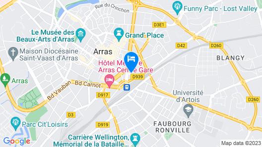 Au Coeur D'eden Map