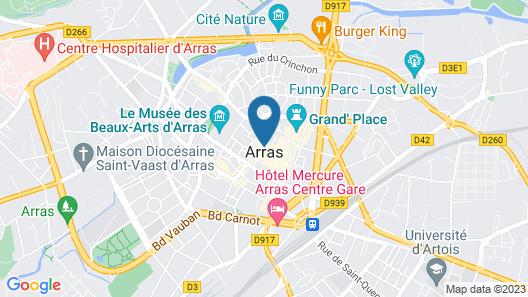 Appartements du Beffroi Map