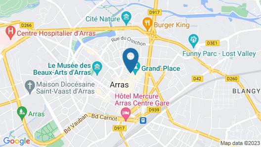 Grand Place Hôtel Map