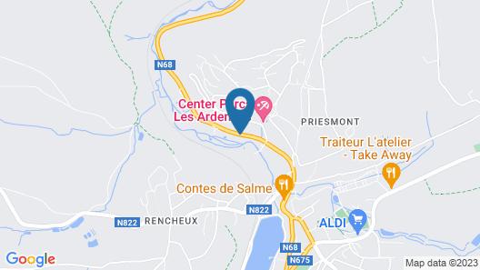 Center Parcs Les Ardennes Map