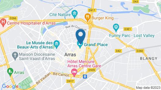 Hôtel Les Trois Luppars Map