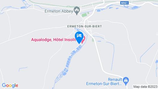 AquaLodge Map