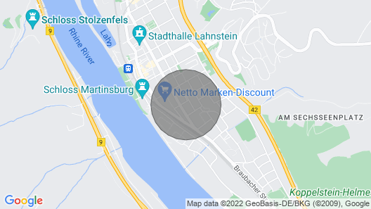 1 Bedroom Accommodation in Lahnstein Map
