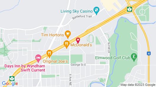 Safari Inn Motel Map