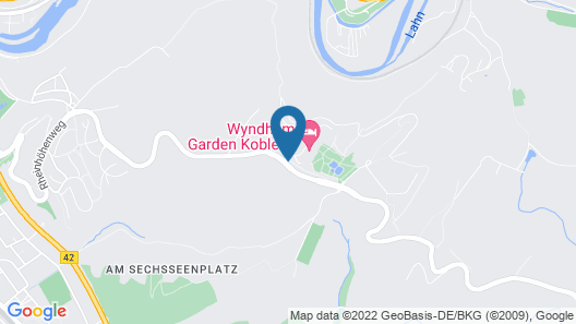 Wyndham Garden Lahnstein Koblenz Map
