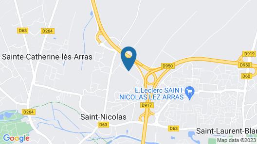 Campanile Arras - Saint Nicolas Map