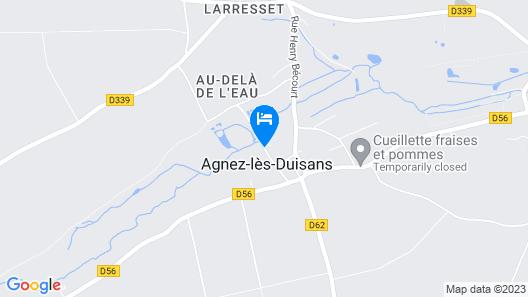 La Renardière Map