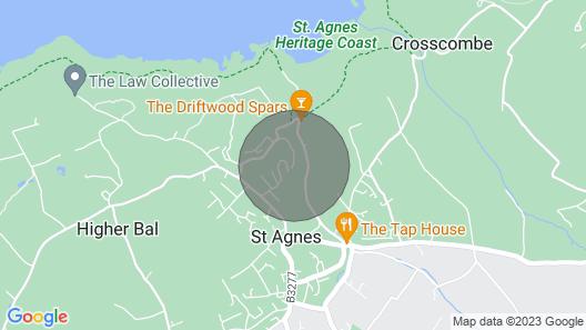 Treth House Cosy Eco-Lodge, 5 mins walk to the beach Map
