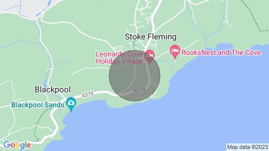 Yew Tree Cottage, Stoke Fleming Map