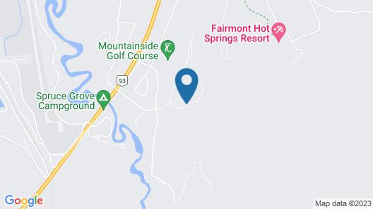 Fairmont Mountainside Vacation Villas Map