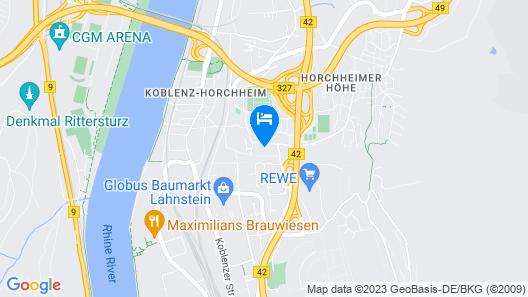 Hotel Restaurant Weinlaube Map