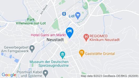 Hotel Garni am Markt Map