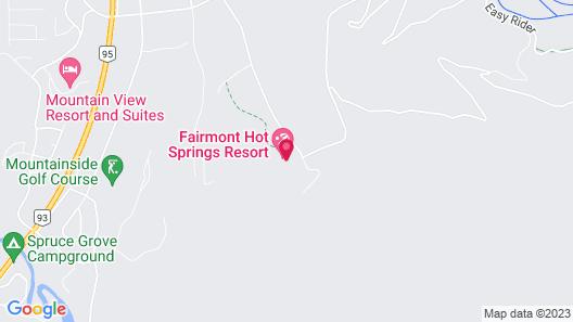 Fairmont Hot Springs Resort Map