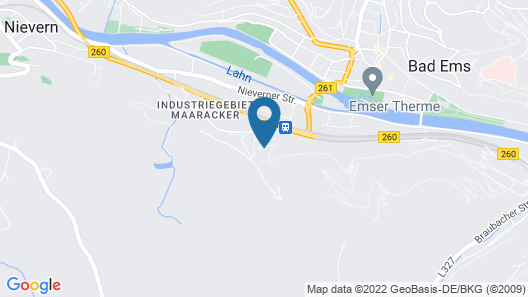 BSW - Hotel Lindenbach Map