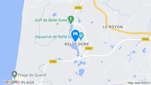 Village Pierre & Vacances - Belle Dune Map