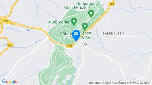 Lindner Nürburgring Congress Hotel  Map