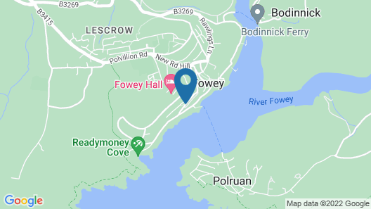 Fowey Harbour Hotel Map