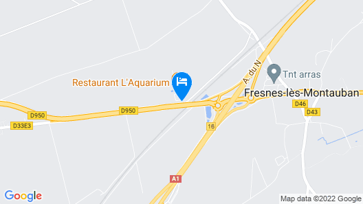 Sure Hotel by Best Western Arras Nord Map