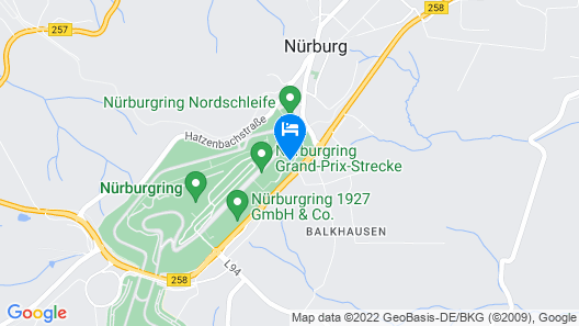 Dorint Am Nürburgring Hocheifel Map