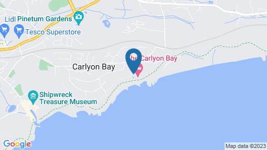 Carlyon Bay Hotel Map