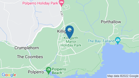 Killigarth Manor Holiday Park Map