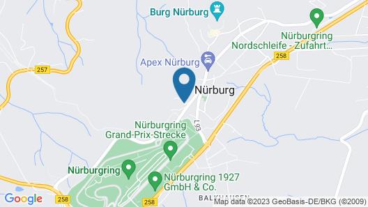 Lindner Nürburgring Motorsport Hotel Map
