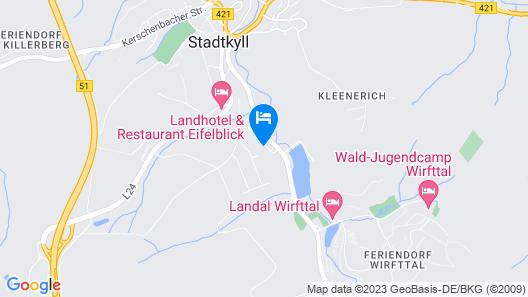 Modern Holiday Home in Eifel With Sauna Map