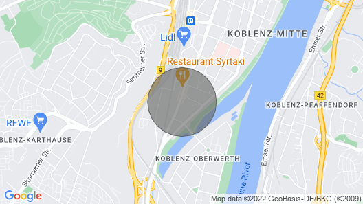Jewel in the Heart of Koblenz Süd Map