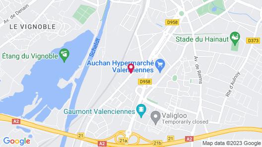 LKP VALENCIENNES Map