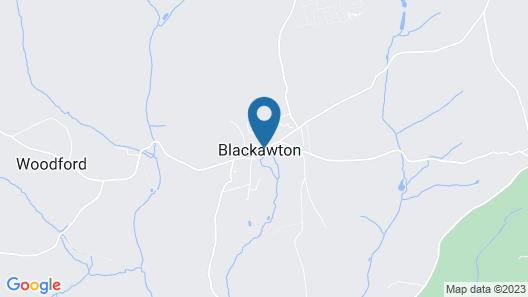 The George Inn - Blackawton Map