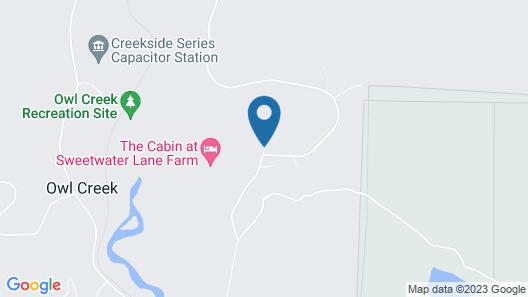 Sweetwater Lane Farm B & B Map