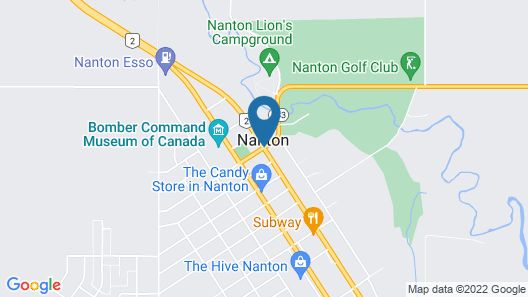 Ranchland Inn Map