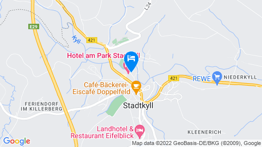 Hotel am Park Stadtkyll Map