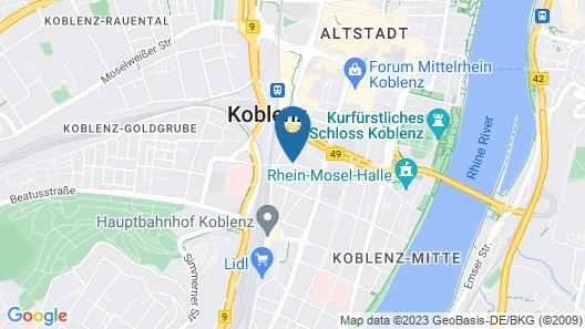 Ibis Koblenz City Map