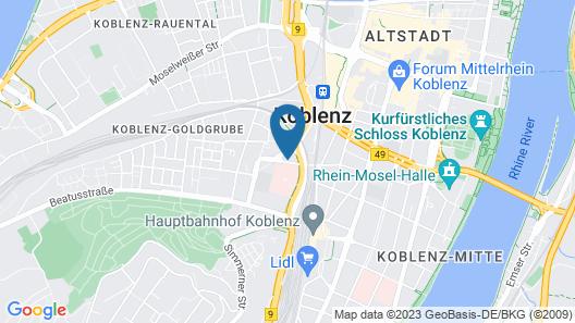 Top Hotel Krämer Map
