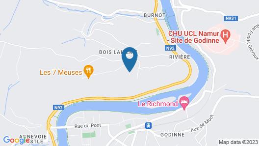 Les 7 Meuses Map