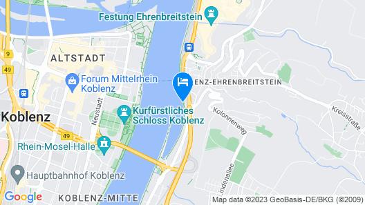 Diehls Hotel Map