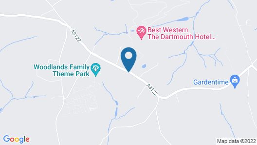 Best Western The Dartmouth Hotel Golf & Spa Map
